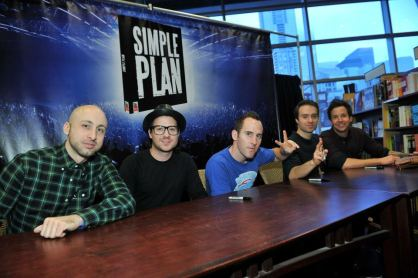 Simple Plan at Chapters